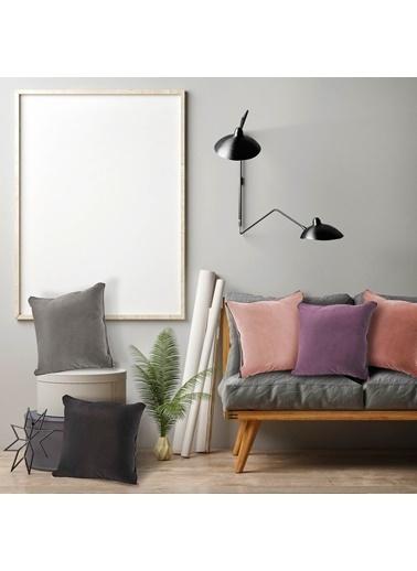 The Mia Kadife Yastık 40 x 40 Cm Renkli